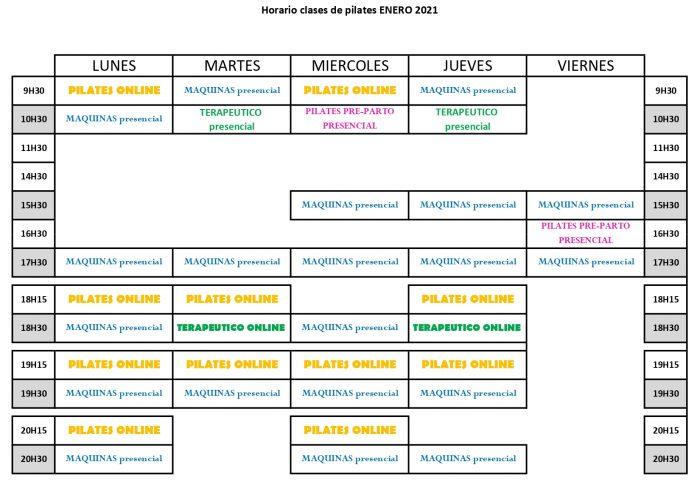 Clases de pilates presenciales y online en valencia